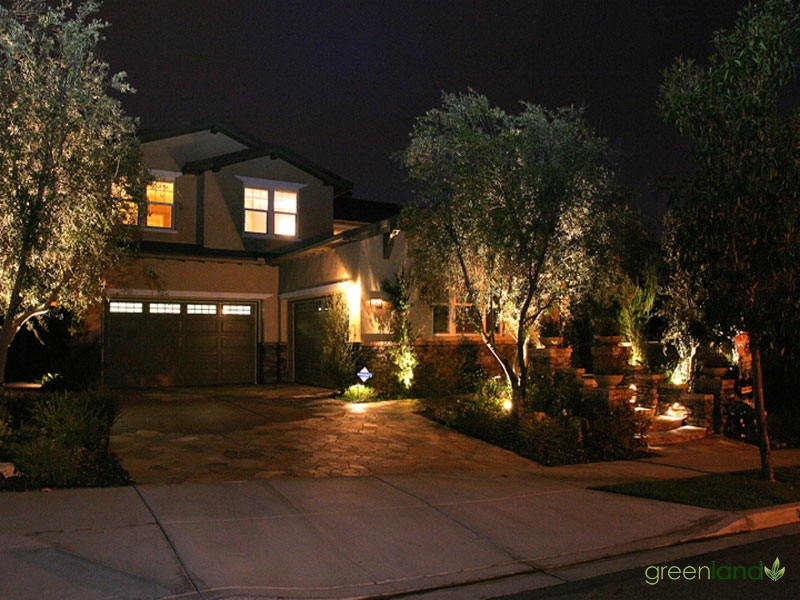 Front Entrance - Night
