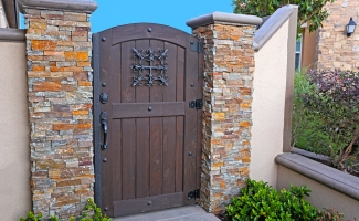 Side Yard Wooden Door