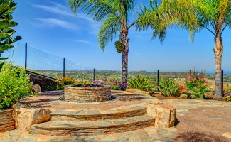 Fire Pit and Hardscape